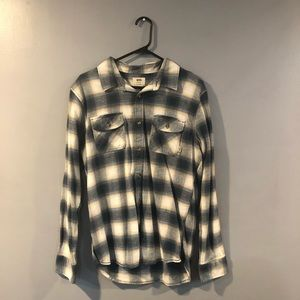 VANS Long Sleeve Flannel Shirt
